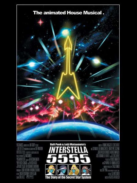 Daft Punk Intersteller 5555 poster
