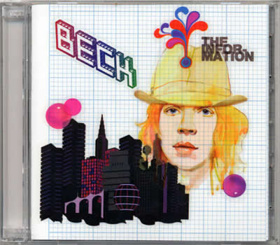 Beck: The Information Custom Cover 3