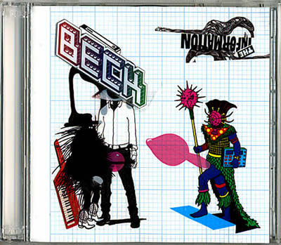 Beck: The Information Custom Cover 4