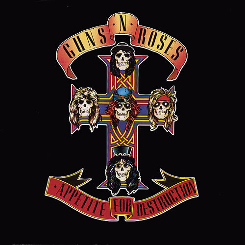GUNS 'N' ROSES − APPETITE FOR DESTRUCTION
