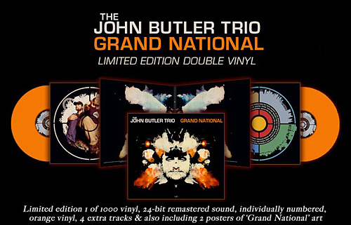 John Butler Trio: Grand National Vinyl