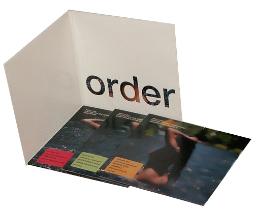 New Order: Waiting for the Sirens' Call Vinyl Booklet