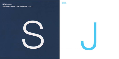 New Order: Waiting for the Sirens' Call Promo Covers