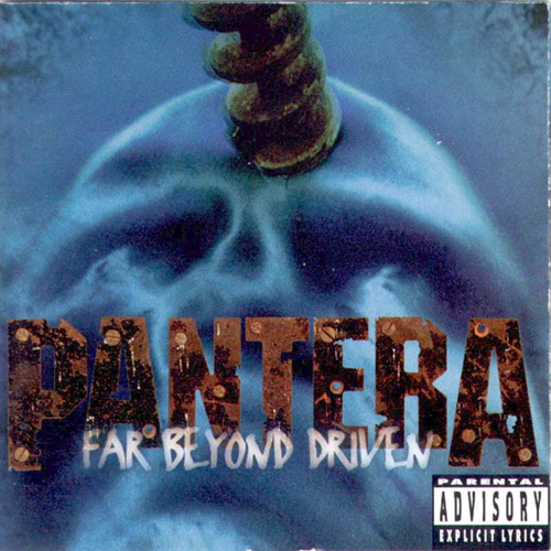 Pantera: Far Beyond Driven Front CD cover