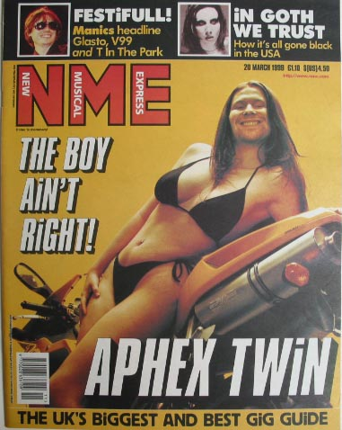 Windowlicker NME Cover
