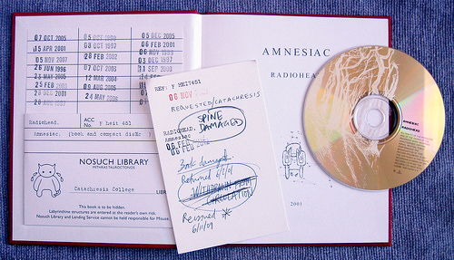 Radiohead: Amnesiac  Book Open