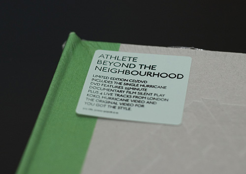 Athlete: Beyond The Neighbourhood Limited Edition