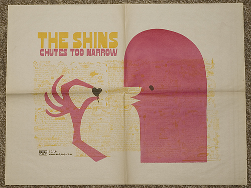 The Shins: Chutes Too Narrow Poster