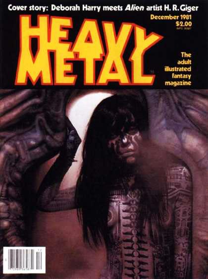 Debbie Harry Giger Heavy Metal 55