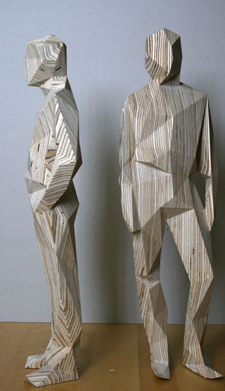 AIR sculptures wooden