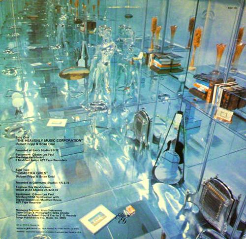 No Pussyfooting Back | Brian Eno & Robert Fripp