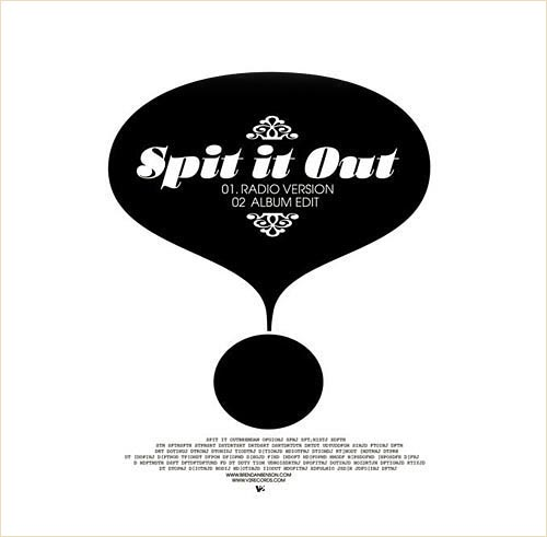 Spit it out back sleeve