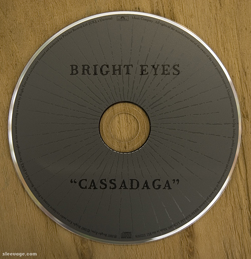 Bright Eyes: Cassadaga CD