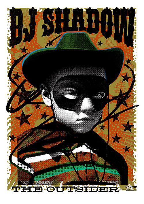 DJ Shadow: HMV Poster