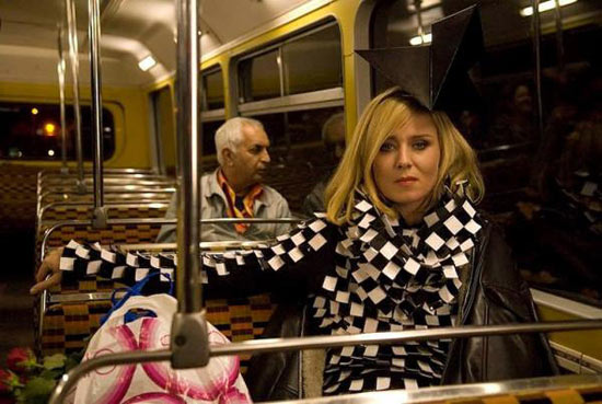 Roisin Murphy on the bus