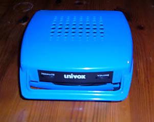 Univox Mange-Disque Blue