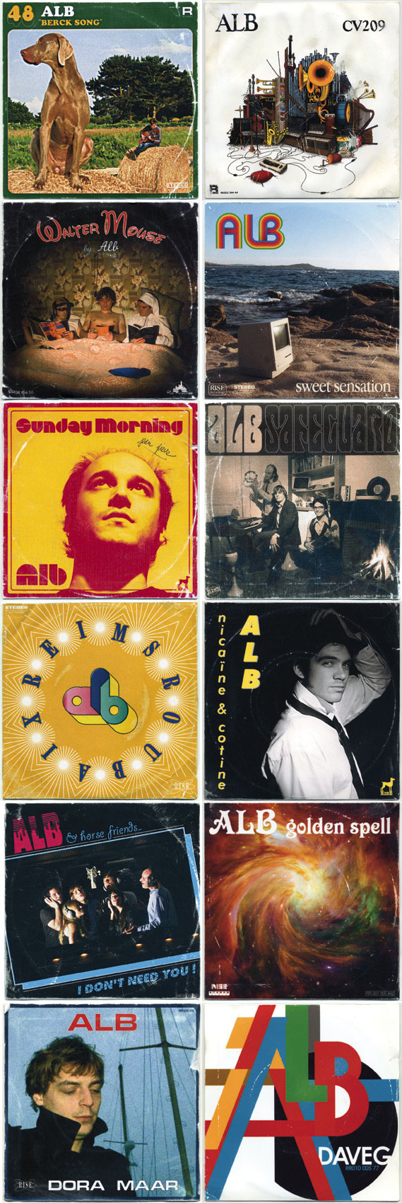 ALB Mange-Disque 45 Covers