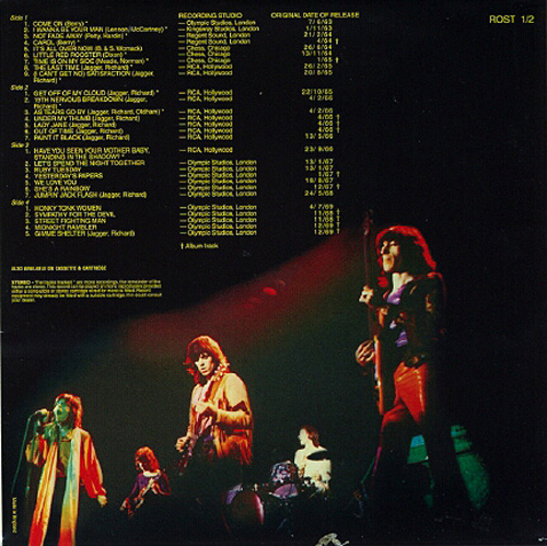 Rolled Gold: The Rolling Stones 1975 Back