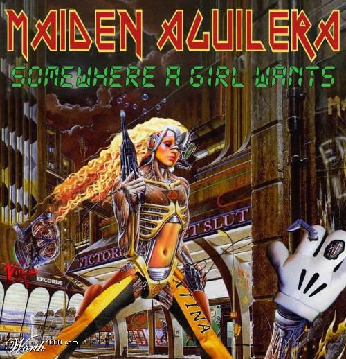 Iron Maiden: Aguilera