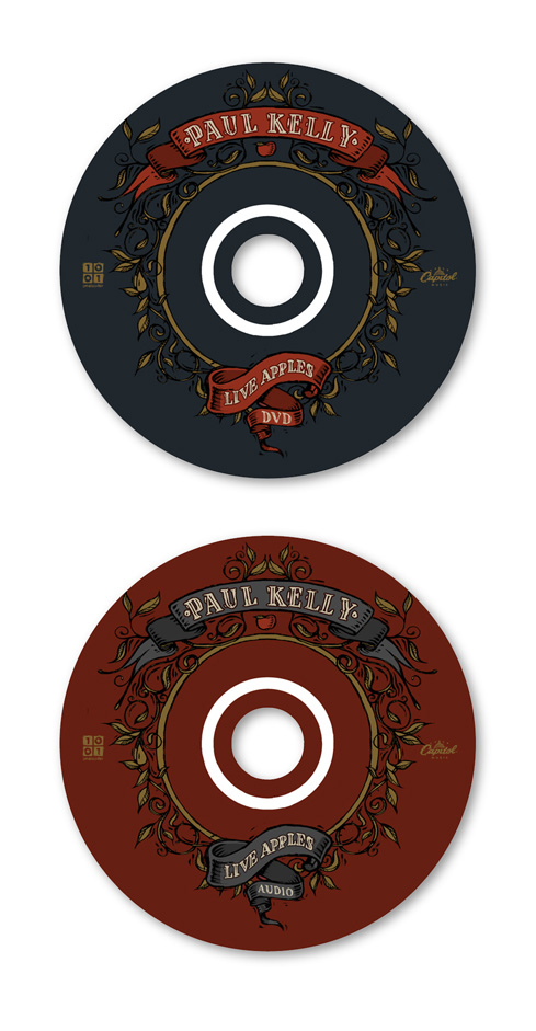 Paul Kelly: Stolen Apples DVD Discs