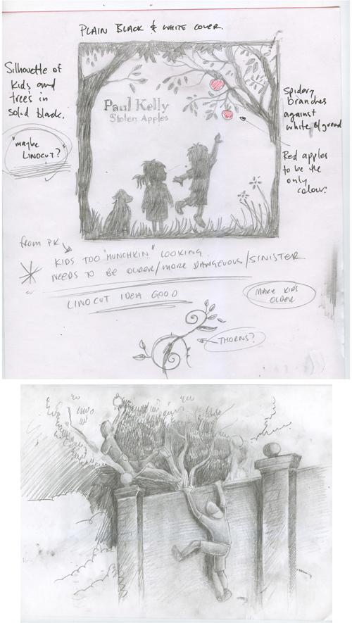 Paul Kelly: Stolen Apples Sketch