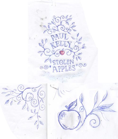 Paul Kelly: Stolen Apples Sketch 2