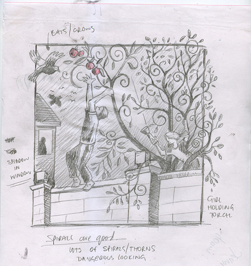 Paul Kelly: Stolen Apples Sketch 3