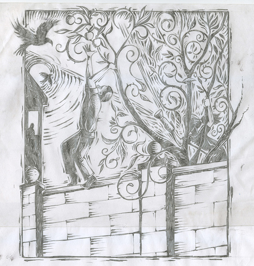 Paul Kelly: Stolen Apples Sketch Final