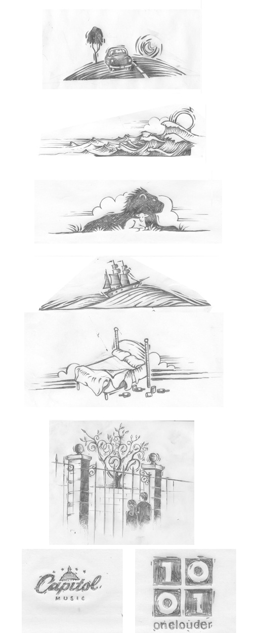 Paul Kelly: Stolen Apples Sketch Pages