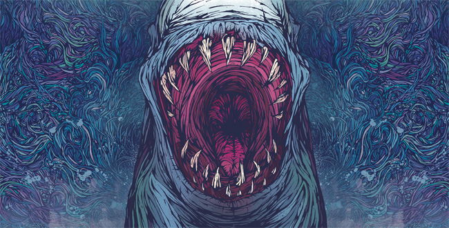 Gallows: Belly of the Shark Inner Slip