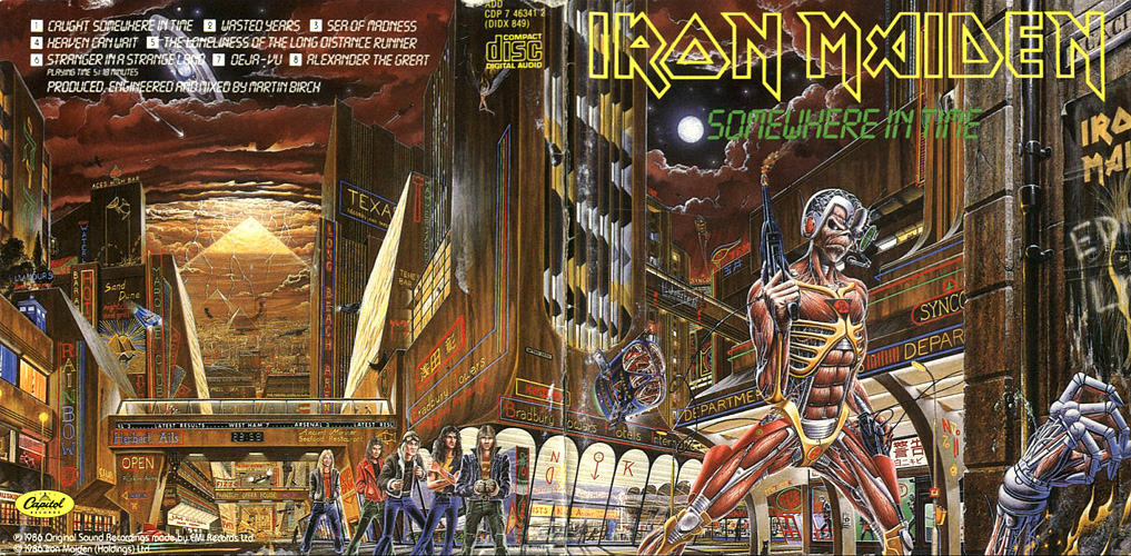 Iron Maiden: Somewhere in Time Full Wrap