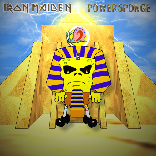 Powersponge Iron Maiden