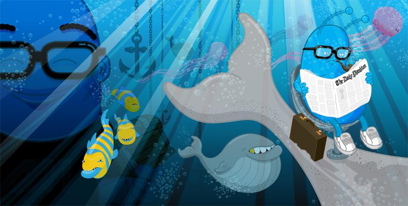 Mike Monday: I Am Plankton Detail 1