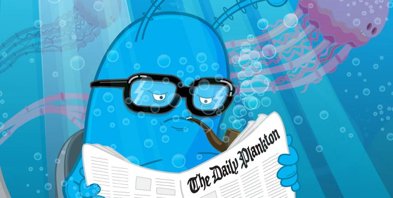 Mike Monday: I Am Plankton Detail 2