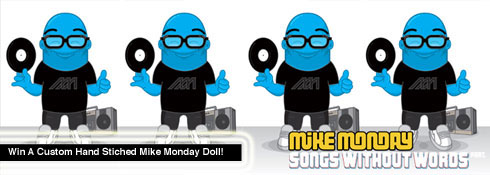 Win a Mike Monday Doll
