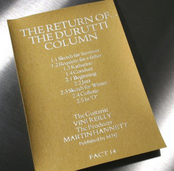 The Return of The Durutti Column Modern
