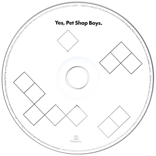 Pet Shop Boys: Yes CD
