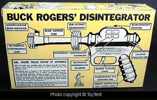 La Historia del desintegrador