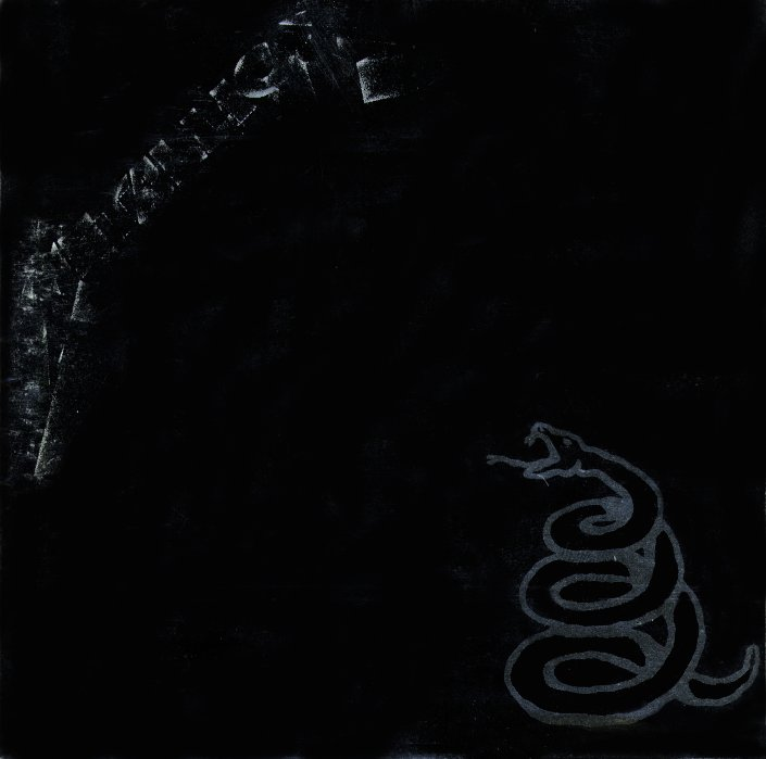 METALLICA - Black album - Front